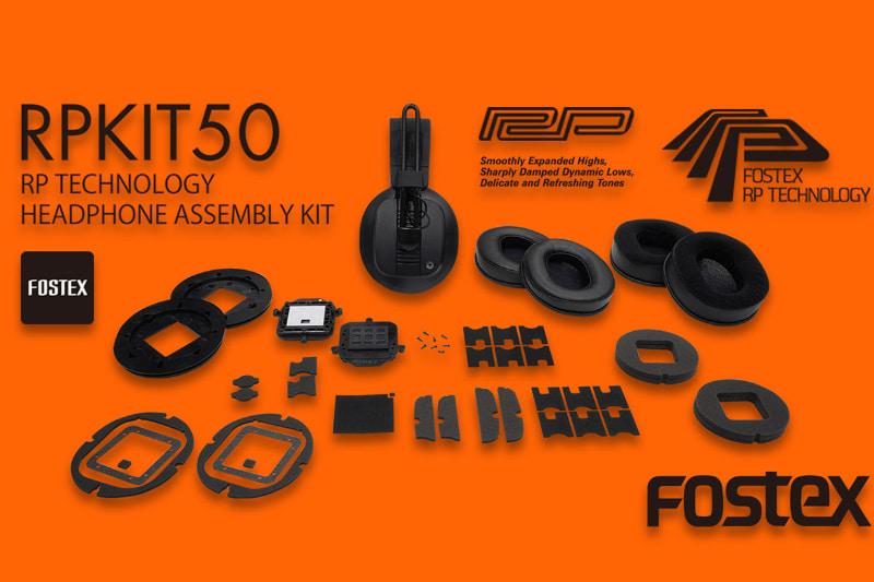 平面駆動型のヘッドフォンをユーザーが自作できる組み立てキット「RPKIT50」