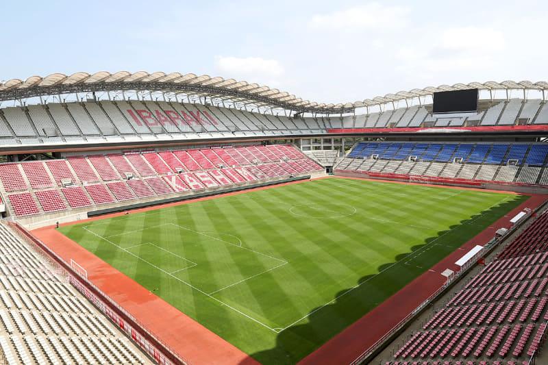 """茨城カシマスタジアム<br><span class=""""fnt-70"""">(C)Tokyo 2020</span>"""