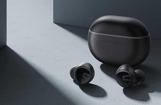 SOUNDPEATSの完全ワイヤレスイヤフォン「Mini」