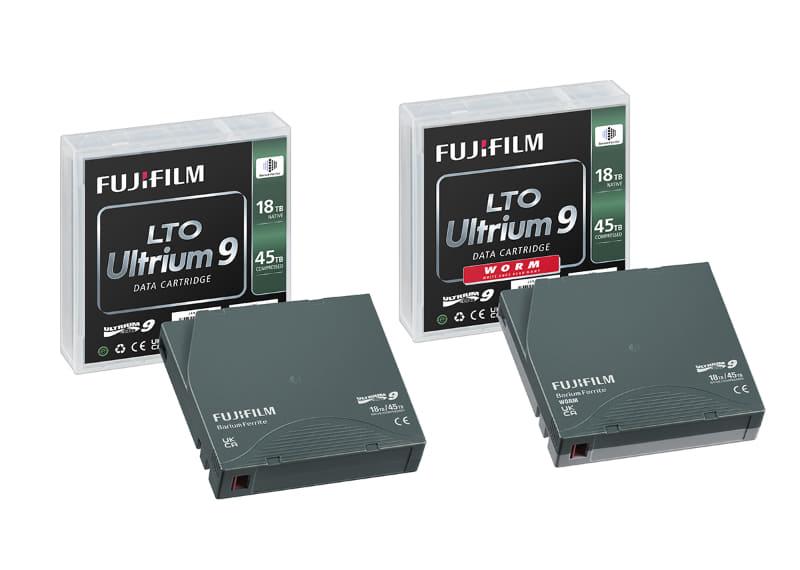 「FUJIFILM LTO Ultrium9 データカートリッジ」