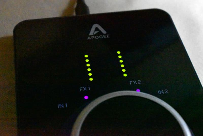 LEDのレベルメーター