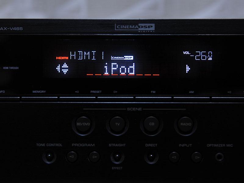iPodという表示名はプリセットされている