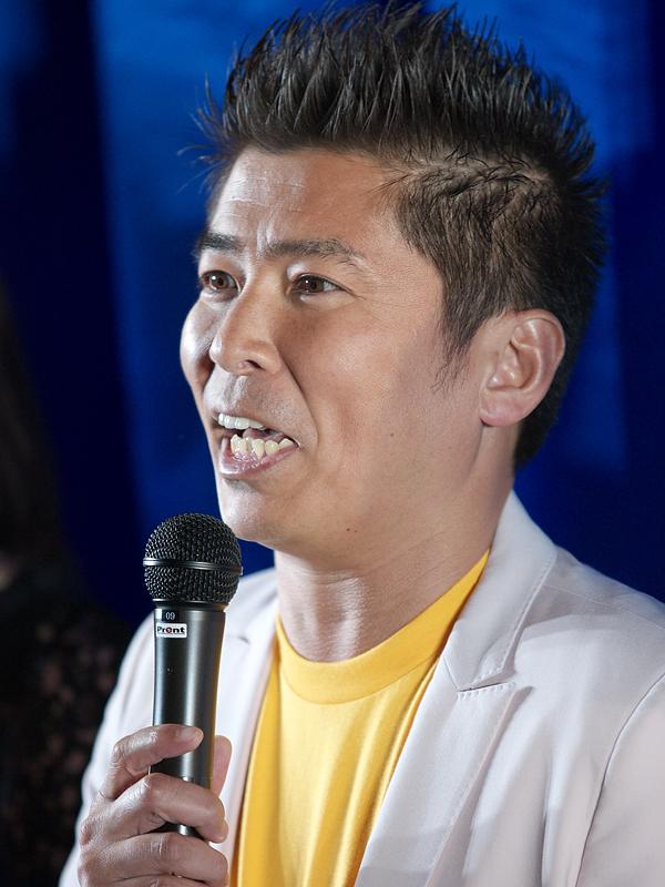 勝俣州和さん。前日(17日)に結婚を発表したダウンタウンの松本人志さんに、「結婚は、修行ですから。修行の道へようこそ」とエールを贈っていた