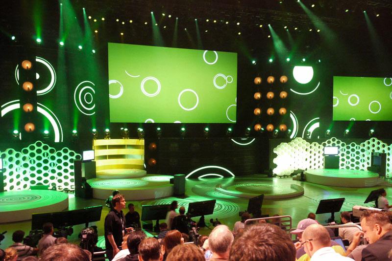 Xbox360 E309 Media Breefingの模様