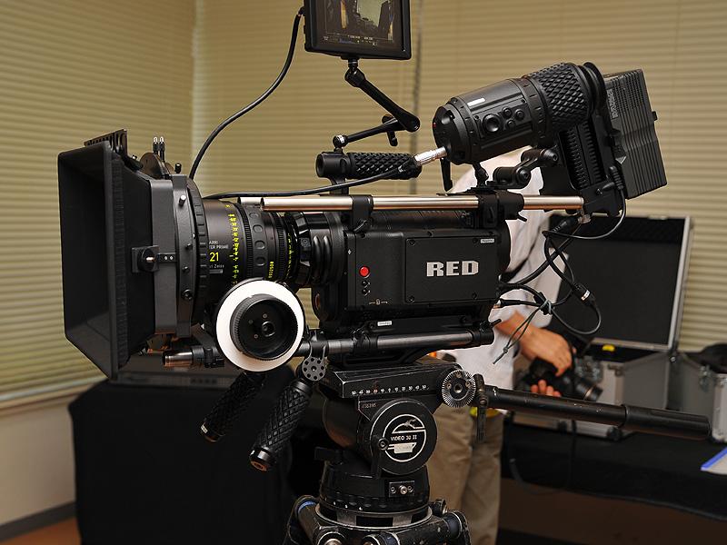 4Kデジタルシネマカメラ「RED ONE」