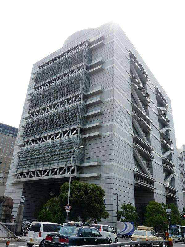 シャープの株主総会が開かれた大阪・中之島のグランキューブ大阪