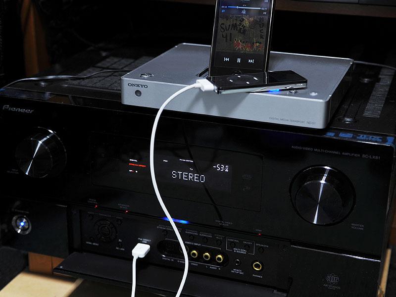 パイオニアのAVアンプ「SC-LX81」と接続