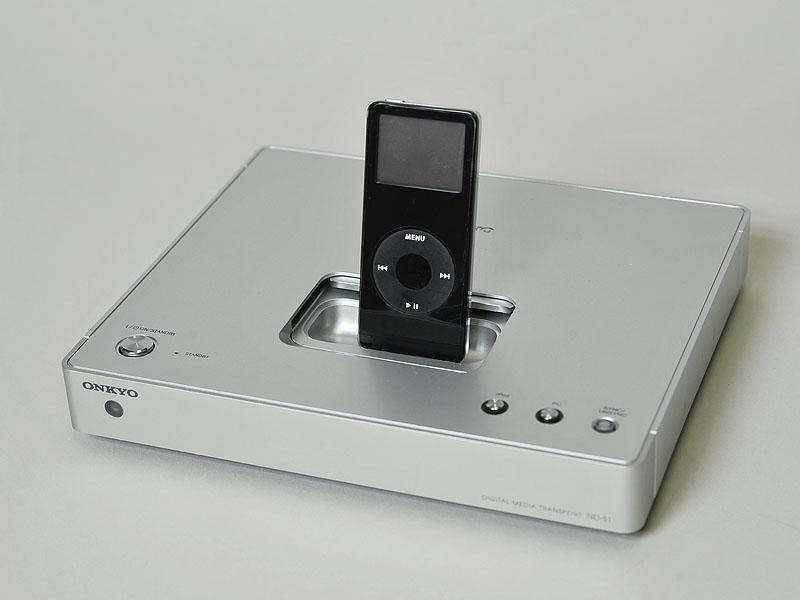 iPod nanoを搭載したところ