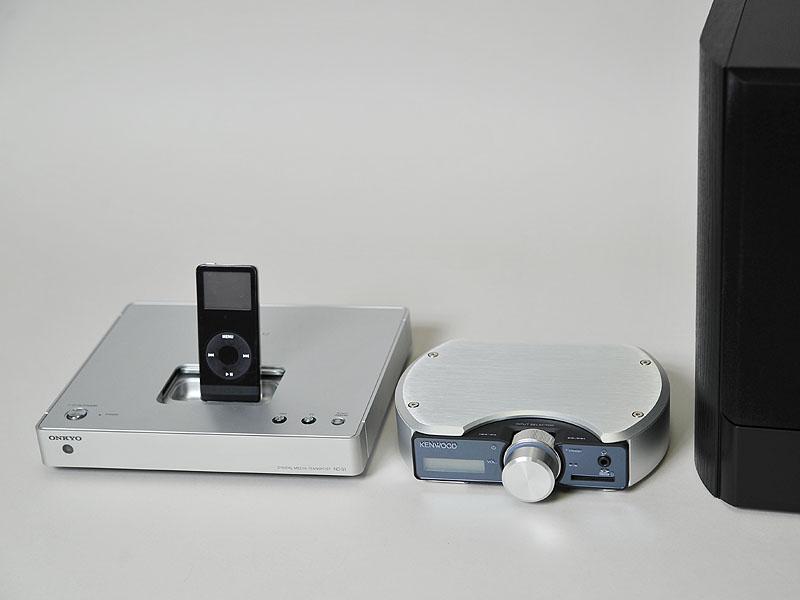 ケンウッドの「Prodino」も光デジタル入力を備え、DACを内蔵している