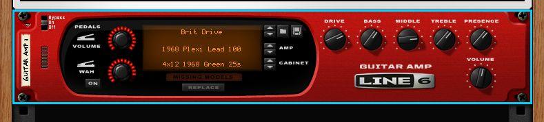 ギターアンプシミュレータ(GUITAR AMP)