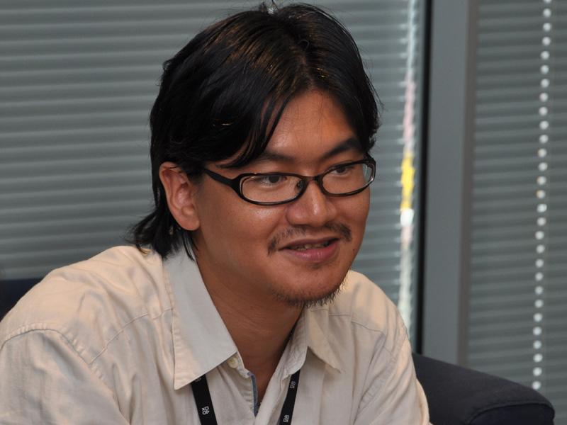 商品企画部・チーフの橋本智志氏