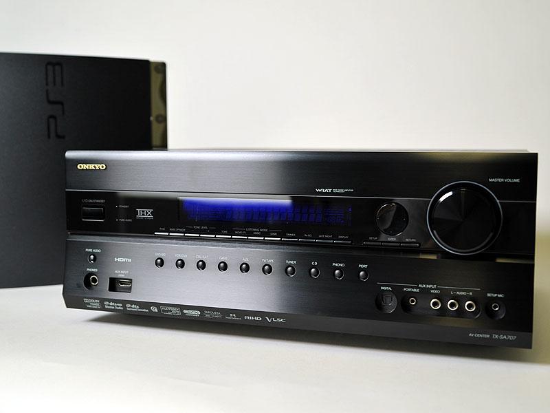 オンキヨーの7.1ch対応AVアンプ「TX-SA707」