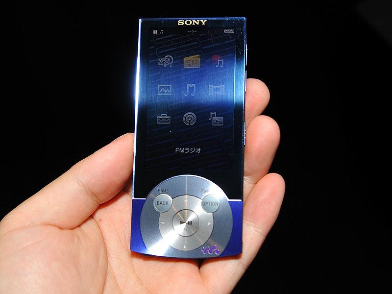 """「NW-A847/V」(64GB)のカラーは""""アークティックバイオレット"""