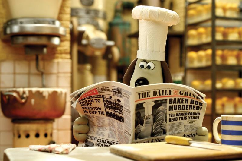 「パン屋さん連続殺人事件」の犯人にウォレスが狙われていることを知ったグルミット。はたして、グルミットはウォレスを救うことができるのか……。<BR><FONT size=1>(C)Aardman Animations Ltd 2008</FONT>
