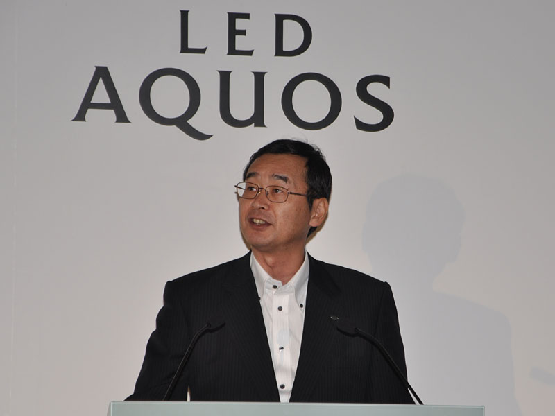 AVシステム事業本部長の中村氏
