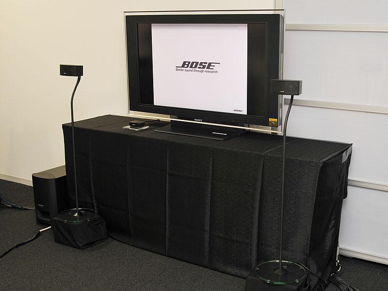 CineMate Series II digital home theater speaker systemの使用イメージ