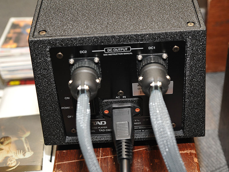 電源部の背面