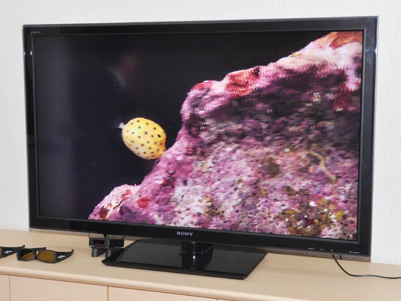 3Dテレビの試作機