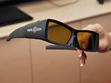 フレームシーケンシャル方式では液晶シャッターを使ったメガネが必要となる