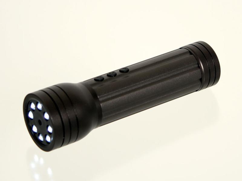 「LED懐中電灯型カメラ」(LDVDHBCK)