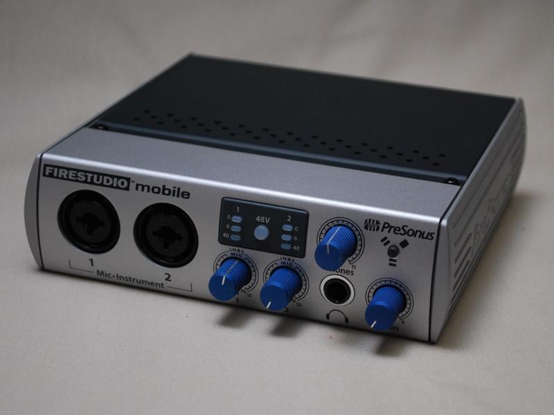 PreSonusのオーディオI/F「FireStudio Mobile」を使って試してみた
