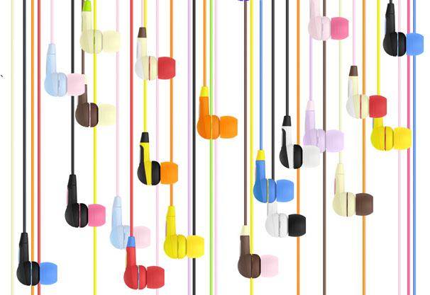 さまざまな色の組み合わせが可能となっている