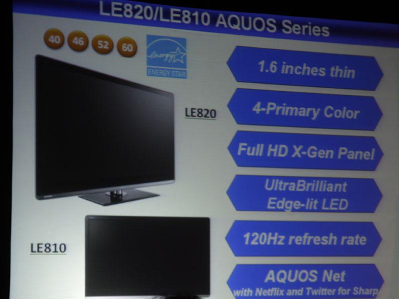 LE820/810の特徴