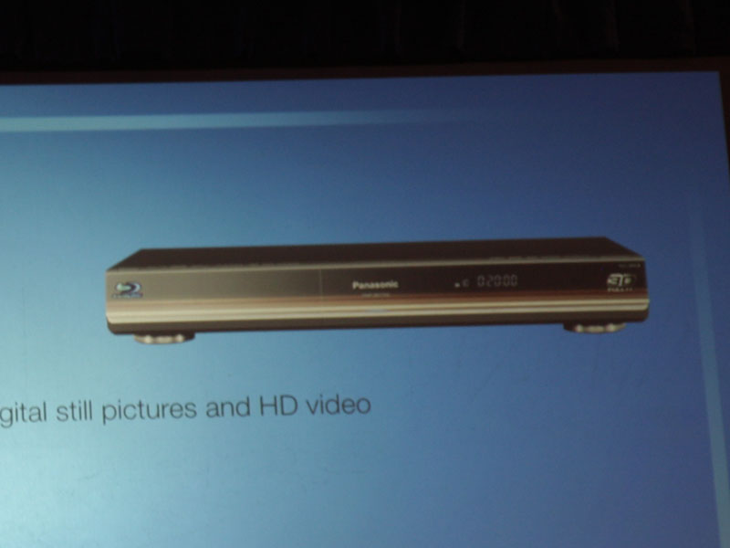 BDプレーヤーの3D対応モデル「DMP-BDT350」