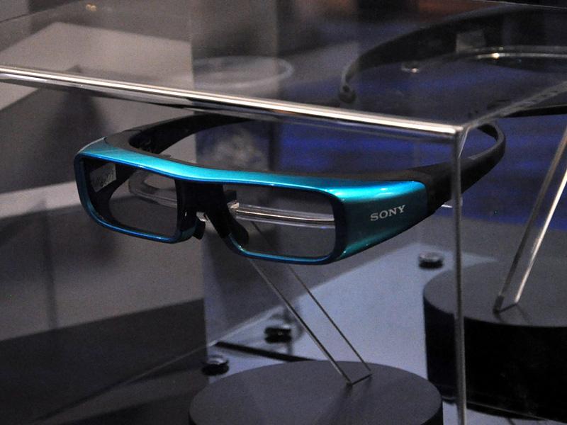 透過率が向上した3Dメガネ
