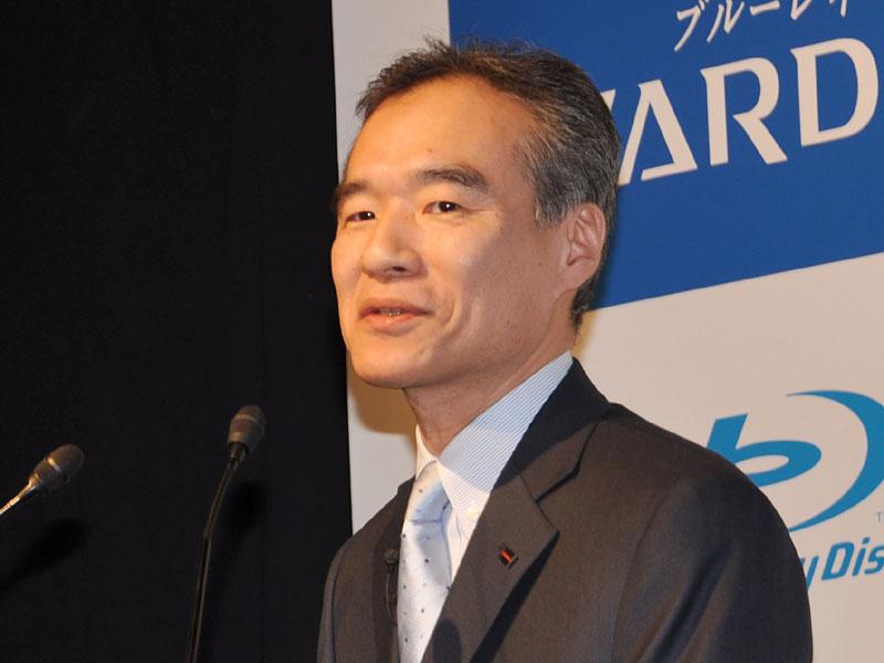 東芝DM社映像マーケティング事業部 日本部 岡田部長