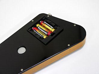 単三電池×3本で駆動