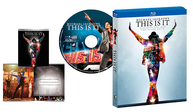 BD版「マイケル・ジャクソン THIS IS IT」<BR><FONT size=1>(C)2009 The Michael Jackson Company, LLC. All Rights Reserved.</FONT>