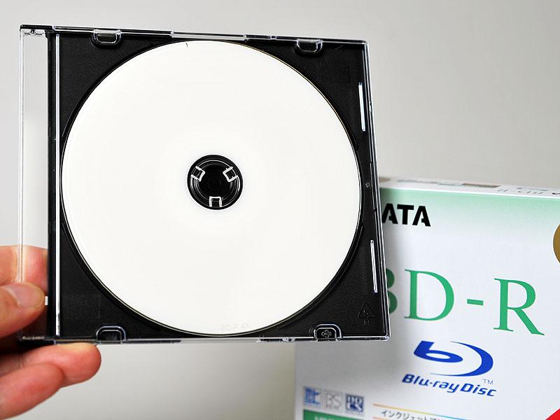 RiDATAの4倍速BD-R 5枚組新パッケージ