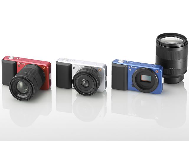 新コンセプトの小型カメラと交換レンズ