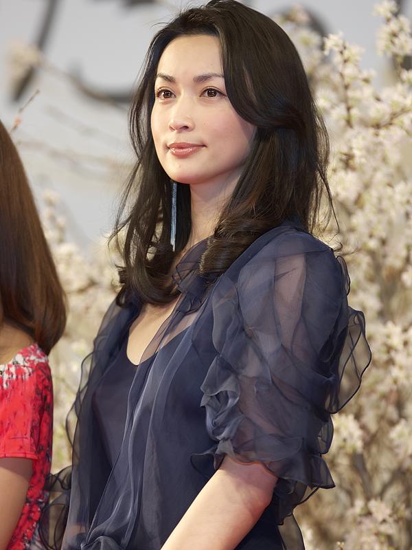 <P align=center>「忘れられた女」を主演した、長谷川京子さん