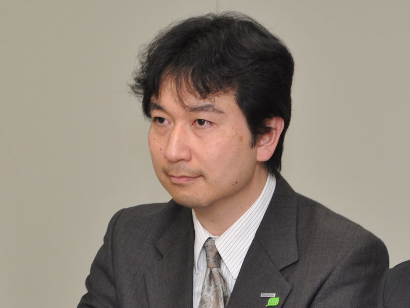 AVCネットワークス社 ビデオビジネスユニット 商品技術グループ 先行開発チーム 主幹技師 森本健嗣氏