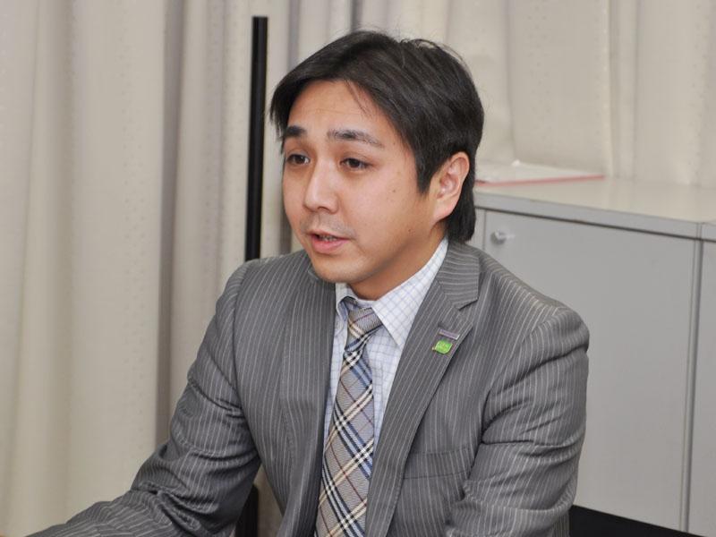 AVCネットワークス社 ビデオビジネスユニット 商品企画グループ チームリーダーの前田将徳氏
