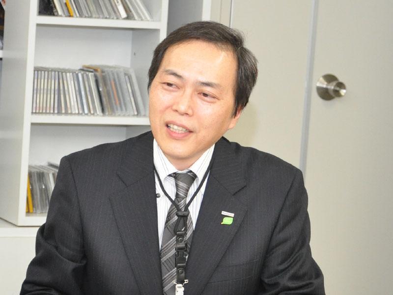 AVCネットワークス社 ビデオビジネスユニット 商品技術グループ 主任技師の溝内弘人氏
