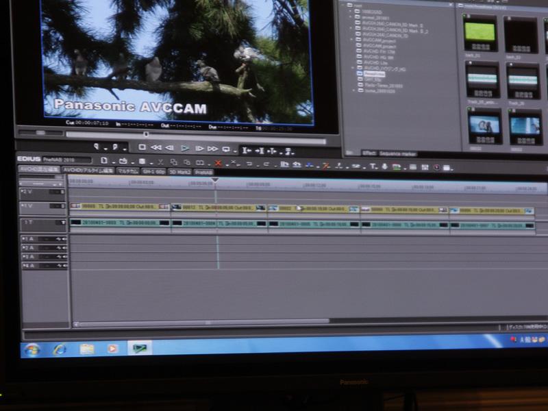 パナソニックのAVCカムや、デジタル一眼「DMC-GH1」、ソニーのコンパクトデジカメ「DSC-HX5V」など様々なカメラのAVCHD動画が混在可能