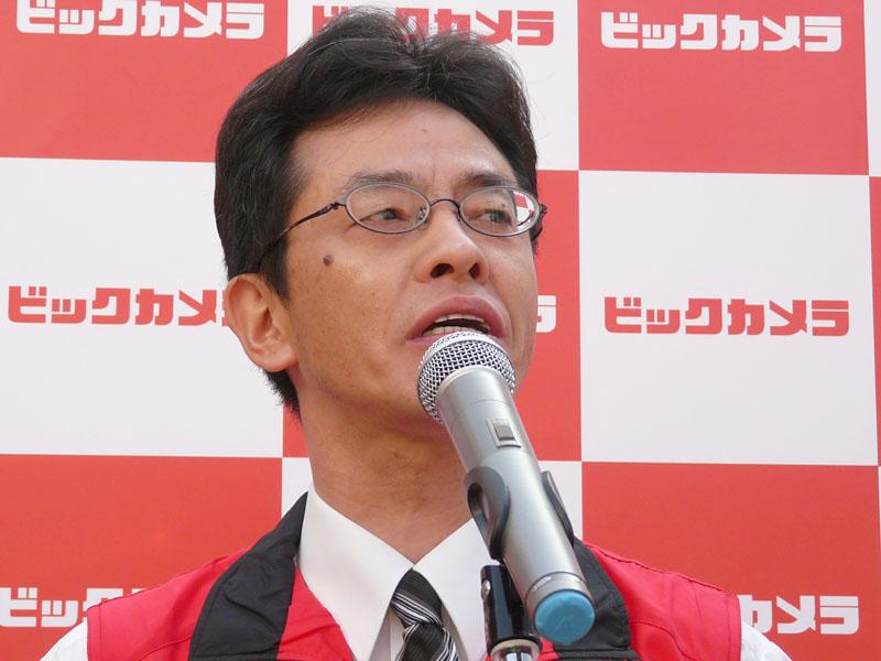 ビックカメラ塚本智明常務取締役