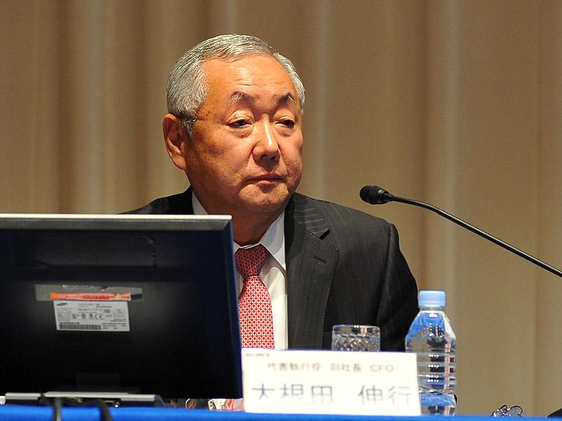 大根田伸行 代表執行役 副社長 CFO