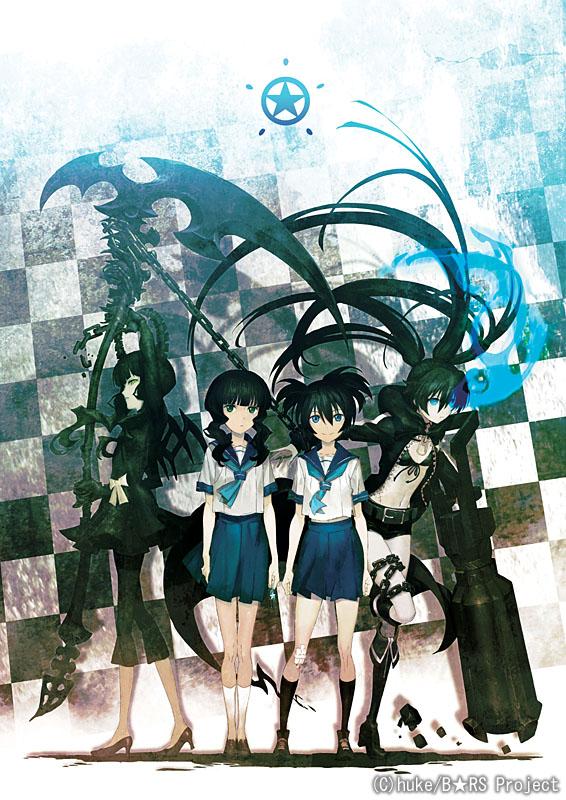 アニメ版「ブラック★ロックシューター」<BR><FONT size=1>(C)huke/B★RS Project</FONT>