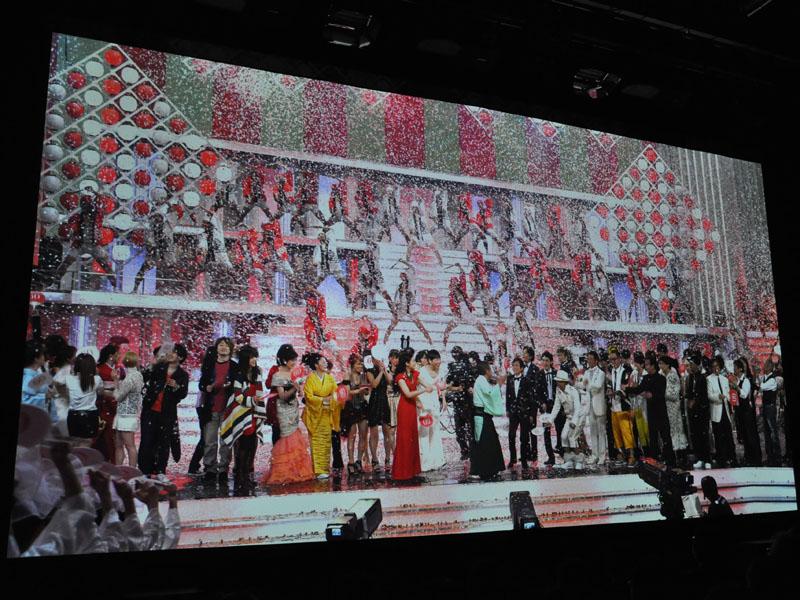 2009紅白歌合戦の映像もSHVで観ることができる
