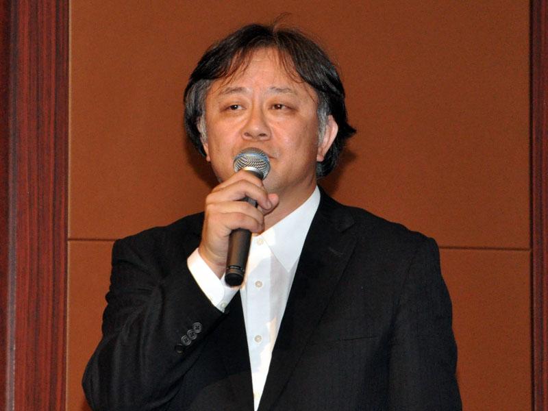 代表取締役に就任予定の今野敏博氏