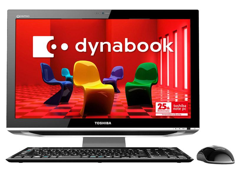初の液晶一体型「dynabook Qosmio DX」