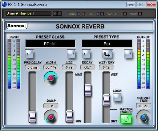 Sonnox Reverb