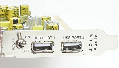 <FONT size=2>USBポート部分</FONT>
