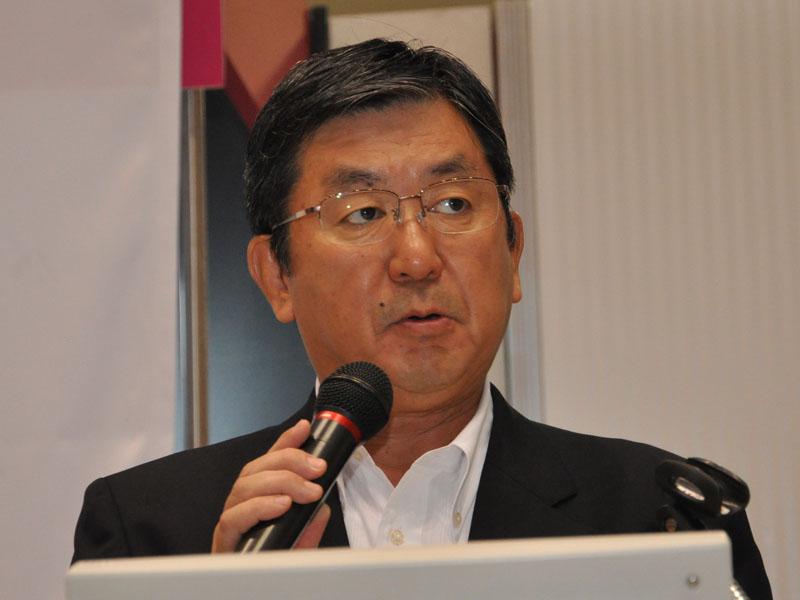 リビング・デジタルメディア事業本部 梅村副事業本部長