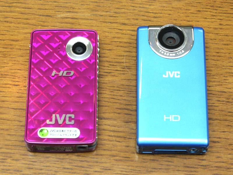 FM2(右)と、従来モデルFM1(左)