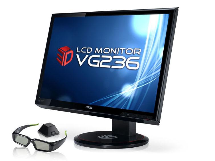 3D Vision用のトランスミッタやメガネが付属